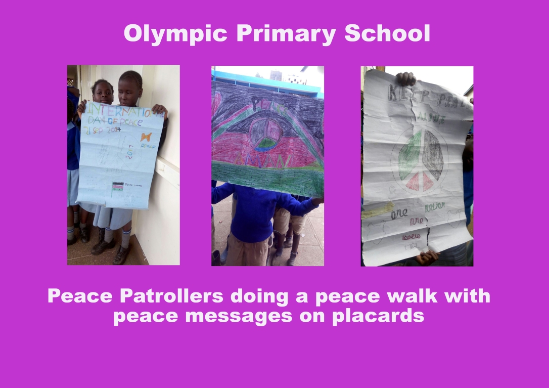 Olympic - International Day of Peace