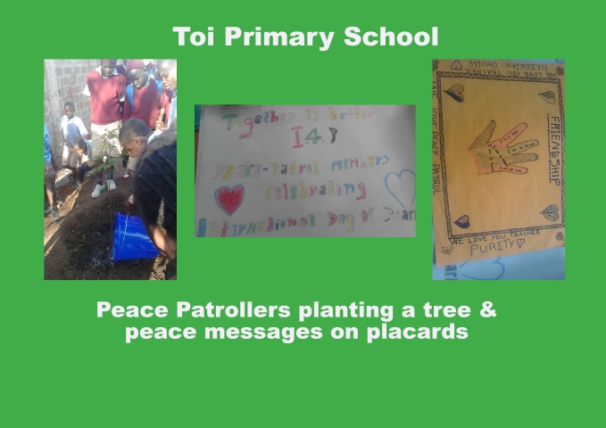 Toi - International Day of Peace